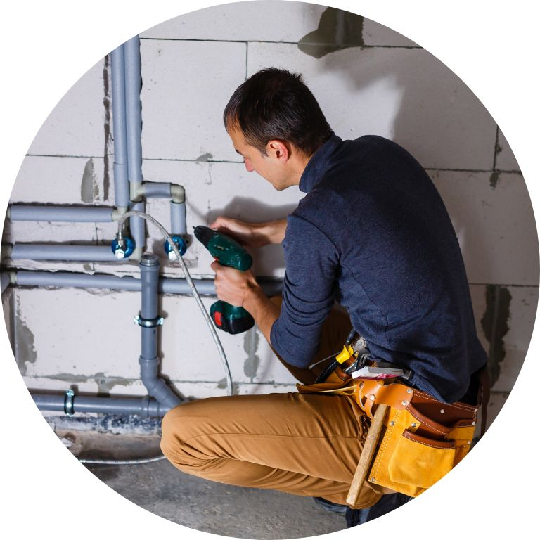 plumber fixing sewer in Montgomery, AL round